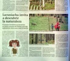 Noticia publicada en Heraldo de Aragón el 20 de junio de 2015