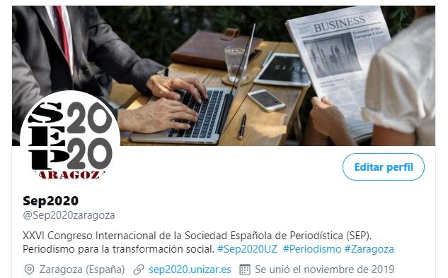 XXVI Congreso Internacional de la Sociedad Española de Periodística (SEP).